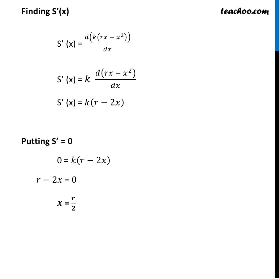 Example 38 - Chapter 6 Class 12 Application of Derivatives - Part 4