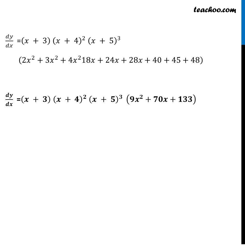 Ex 5.5, 5 - Chapter 5 Class 12 Continuity and Differentiability - Part 4