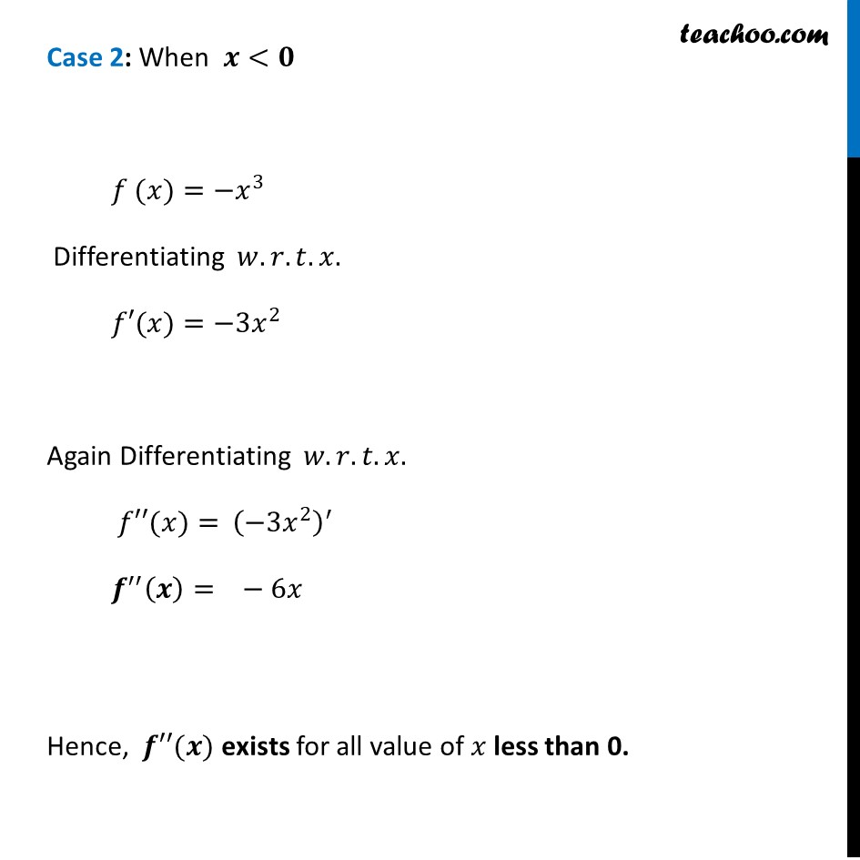 Misc 18 - Chapter 5 Class 12 Continuity and Differentiability - Part 3