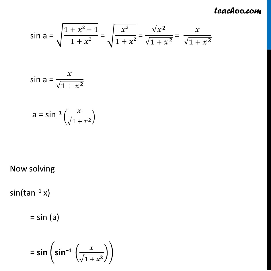 Misc. 15 - Chapter 2 Class 12 Inverse Trigonometric Functions - Part 3