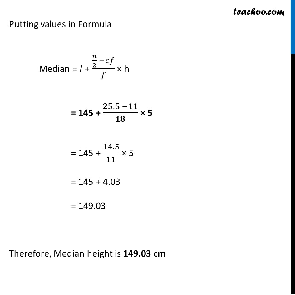 Example 7 - Chapter 14 Class 10 Statistics - Part 4