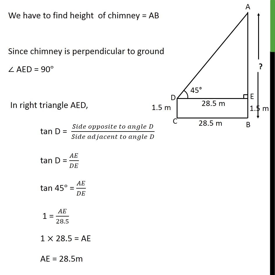 Example 3 - Chapter 9 Class 10 Some Applications of Trigonometry - Part 2