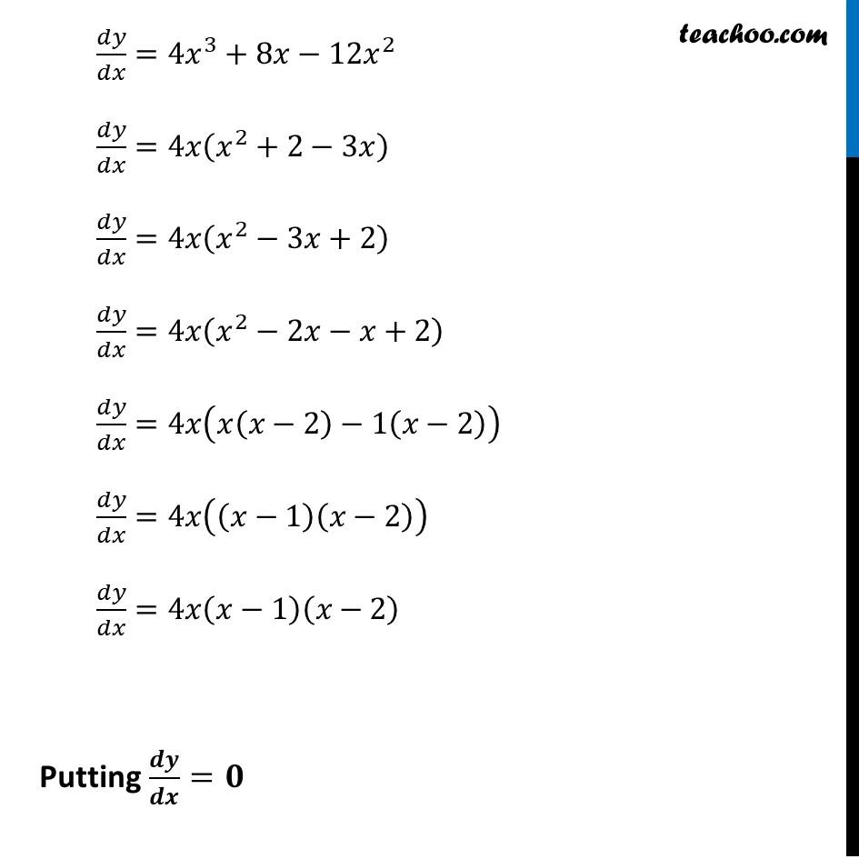 Ex 6.2,8 - Chapter 6 Class 12 Application of Derivatives - Part 2