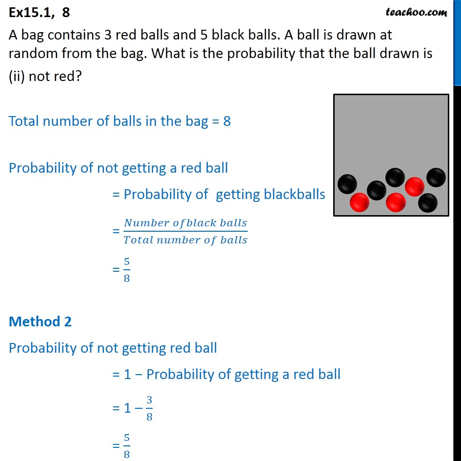 Ex 15.1, 8 - Chapter 15 Class 10 Probability - Part 2