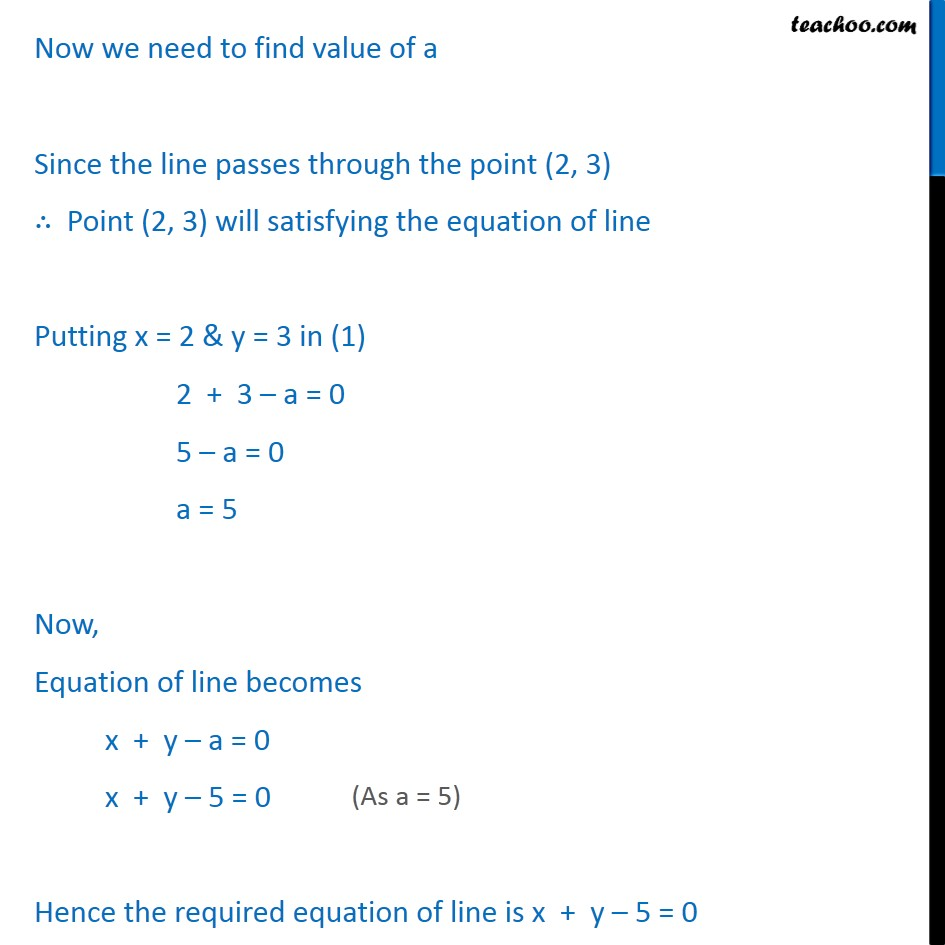 Ex 10.2, 12 - Chapter 10 Class 11 Straight Lines - Part 2