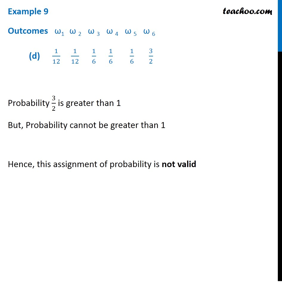 Example 9 - Chapter 16 Class 11 Probability - Part 4