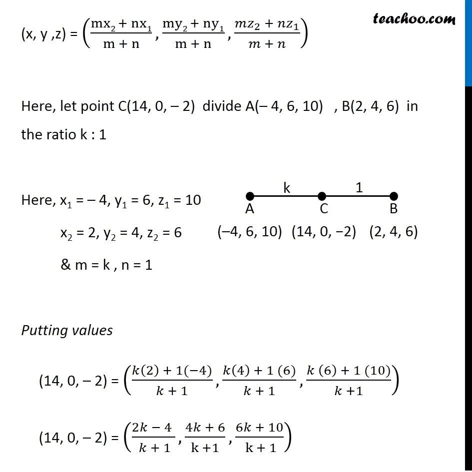Example  8 - Chapter 12 Class 11 Introduction to Three Dimensional Geometry - Part 2