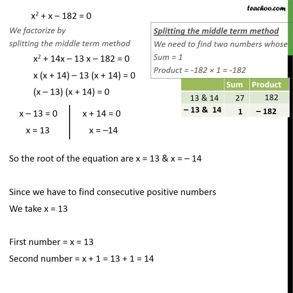 Ex 4.2, 4 - Chapter 4 Class 10 Quadratic Equations - Part 2