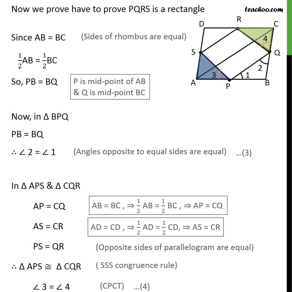 Ex 8.2, 2 - Chapter 8 Class 9 Quadrilaterals - Part 3