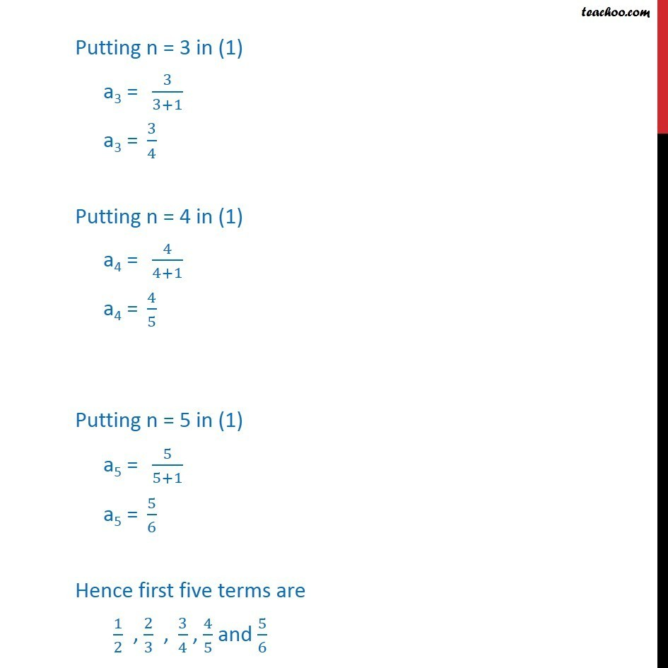 Ex 9.1, 2 - Chapter 9 Class 11 Sequences and Series - Part 2