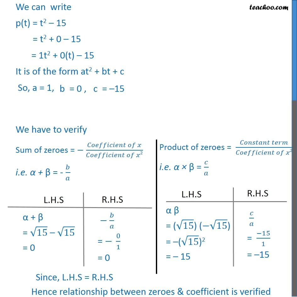 Ex 2.2, 1 - Chapter 2 Class 10 Polynomials - Part 10