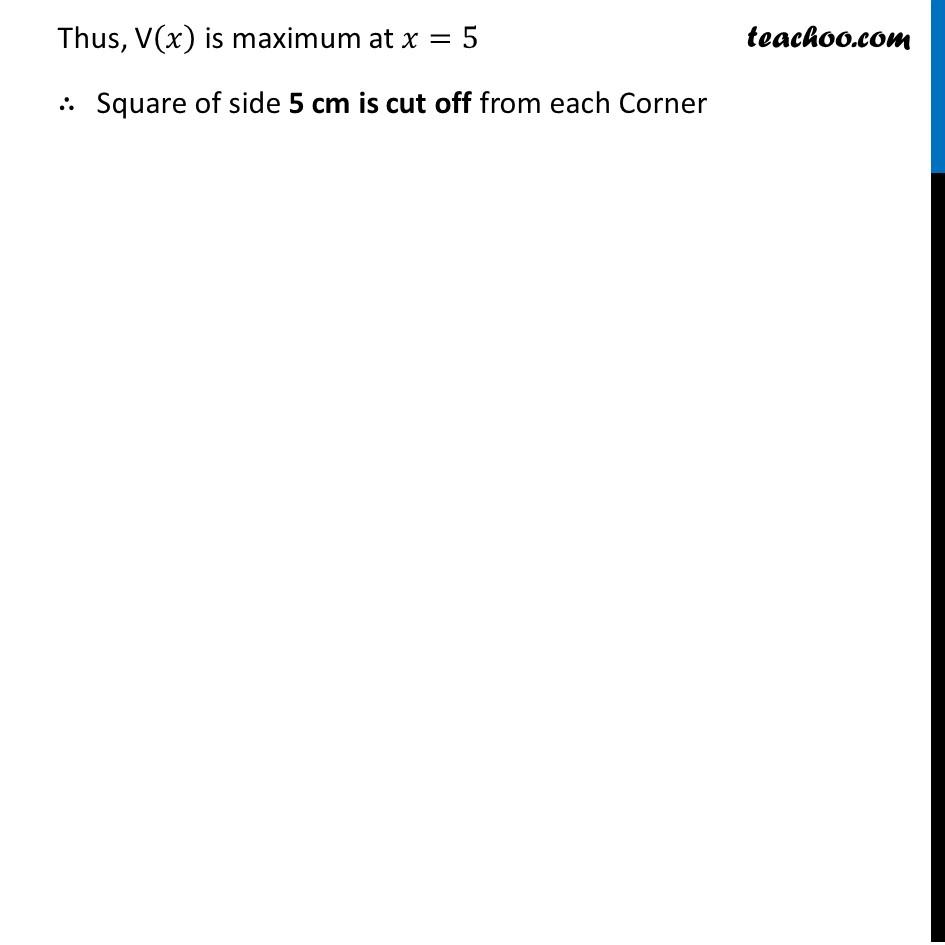 Ex 6.5,18 - Chapter 6 Class 12 Application of Derivatives - Part 5