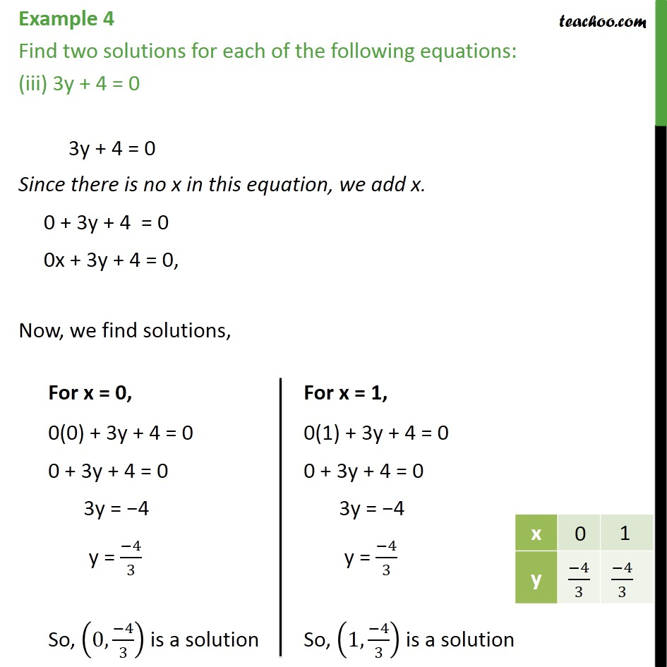 Example 4 - Chapter 4 Class 9 Linear Equations in Two Variables - Part 3