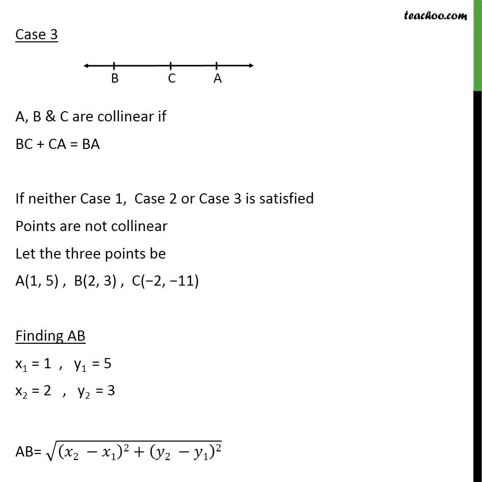 Ex 7.1, 3 - Chapter 7 Class 10 Coordinate Geometry - Part 2