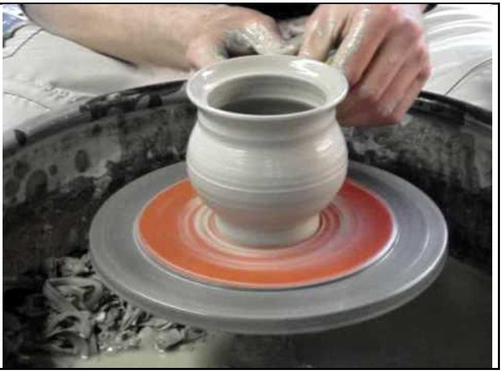 A potter made a mud vessel - Teachoo.jpg