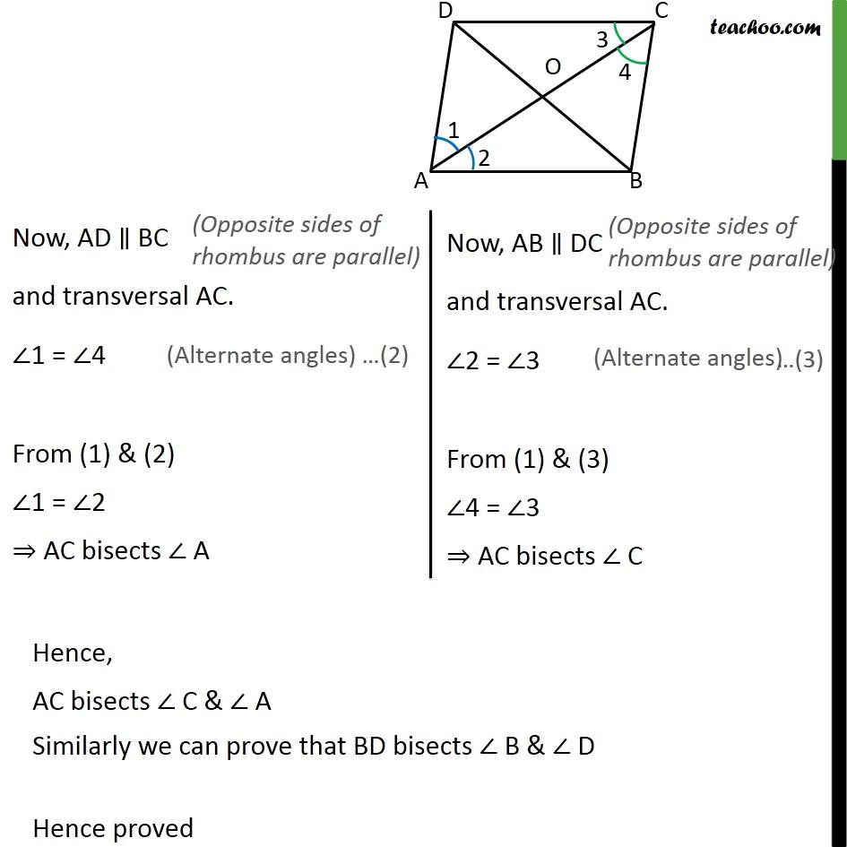 Ex 8.1, 7 - Chapter 8 Class 9 Quadrilaterals - Part 2