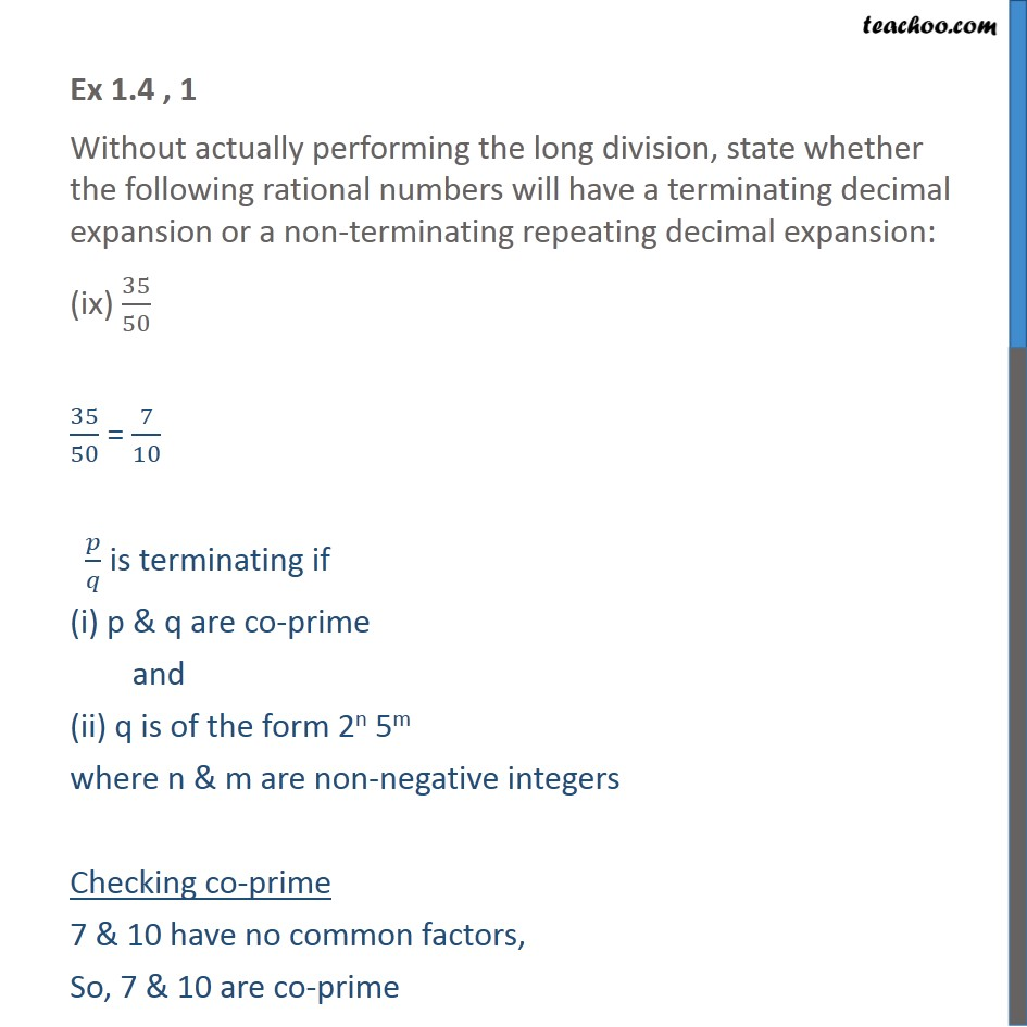 Ex 1.4, 1 - Chapter 1 Class 10 Real Numbers - Part 17