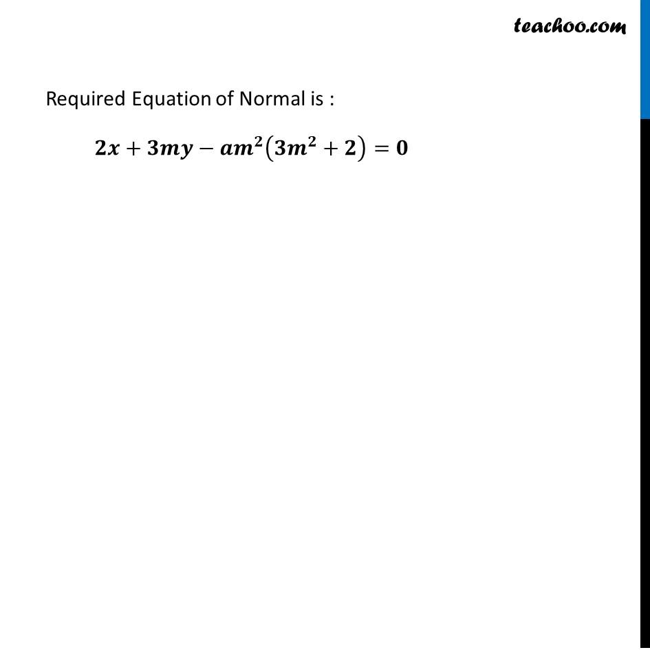 Ex 6.3,20 - Chapter 6 Class 12 Application of Derivatives - Part 4