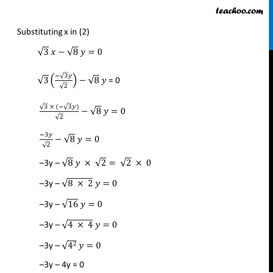 Ex 3.3, 1 - Chapter 3 Class 10 Pair of Linear Equations in Two Variables - Part 15