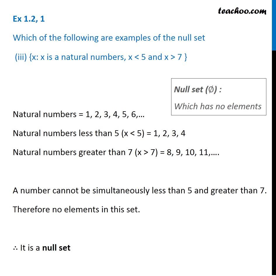 Ex 1.2, 1 - Chapter 1 Class 11 Sets - Part 3