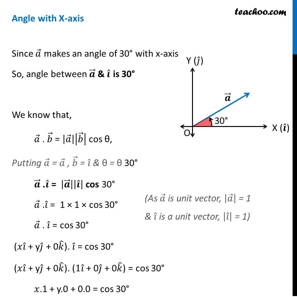 Misc 1 - Chapter 10 Class 12 Vector Algebra - Part 2