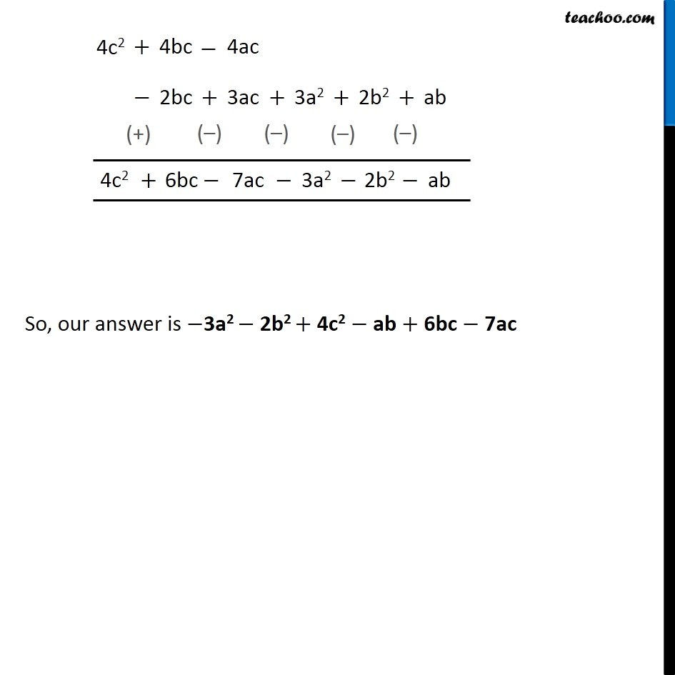 Ex 9.3, 5 - Chapter 9 Class 8 Algebraic Expressions and Identities - Part 7