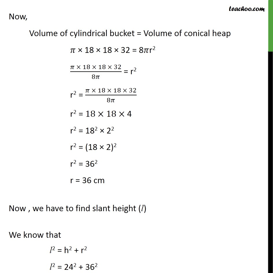 Ex 13.3, 7 - Chapter 13 Class 10 Surface Areas and Volumes - Part 3