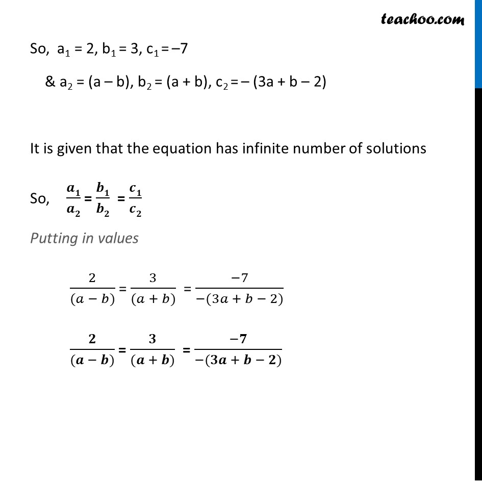 Ex 3.5, 2 - Chapter 3 Class 10 Pair of Linear Equations in Two Variables - Part 2