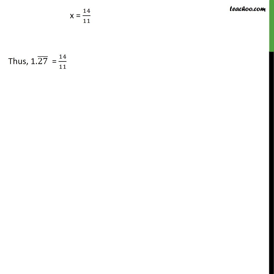 Example 8 - Chapter 1 Class 9 Number Systems - Part 2