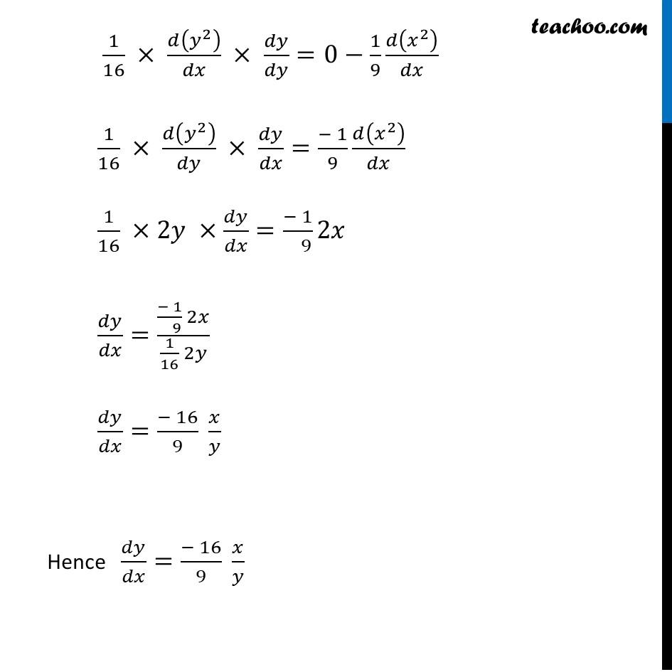 Ex 6.3,13 - Chapter 6 Class 12 Application of Derivatives - Part 2