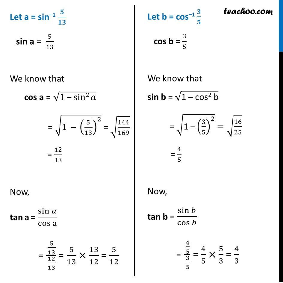 Misc. 7 - Chapter 2 Class 12 Inverse Trigonometric Functions - Part 2