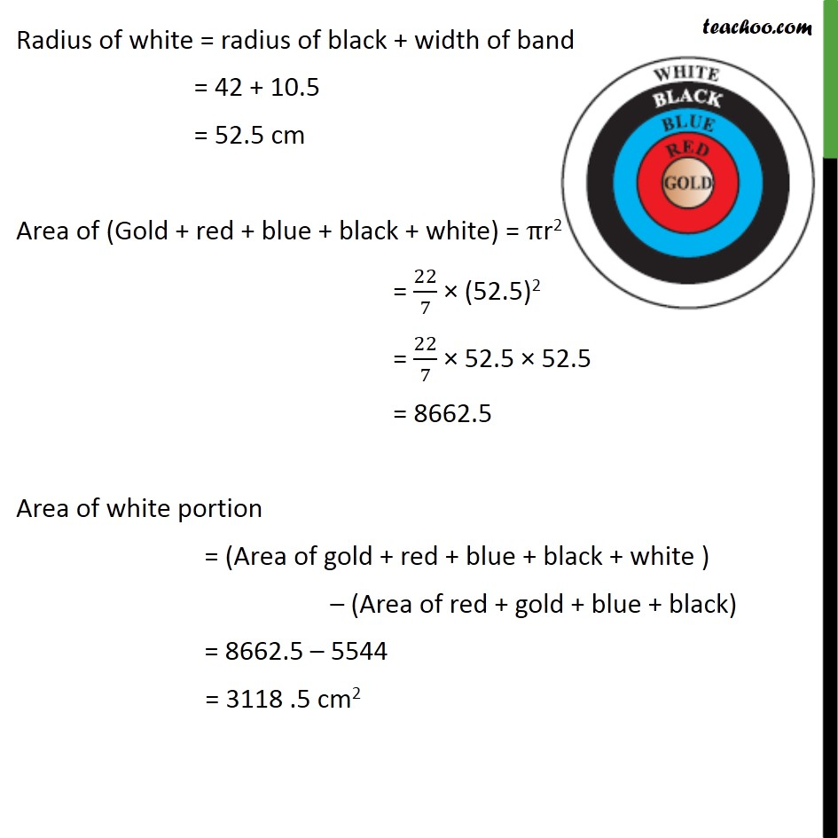 Ex 12.1, 3 - Chapter 12 Class 10 Areas related to Circles - Part 5