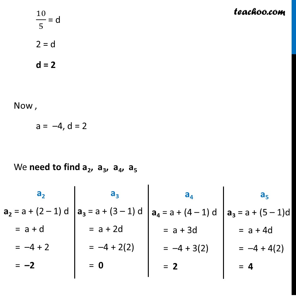 Ex 5.2, 3 - Chapter 5 Class 10 Arithmetic Progressions - Part 11