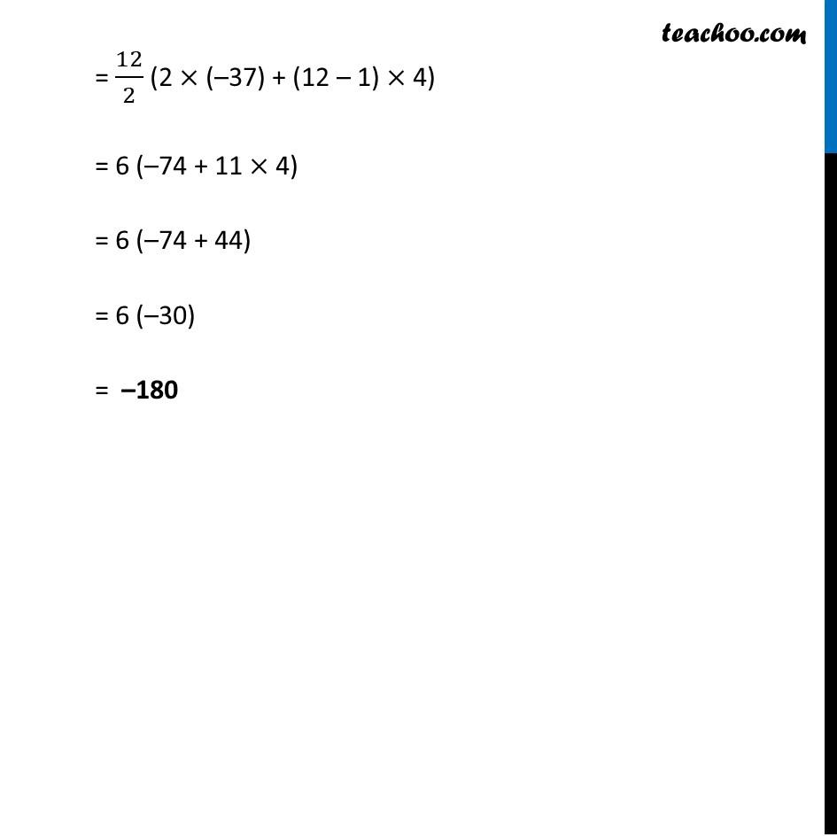 Ex 5.3, 1 - Chapter 5 Class 10 Arithmetic Progressions - Part 4