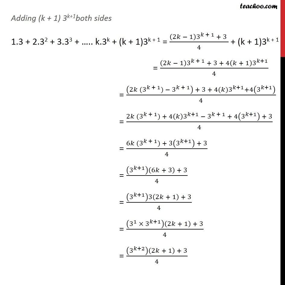 Ex 4.1, 5 - Chapter 4 Class 11 Mathematical Induction - Part 3