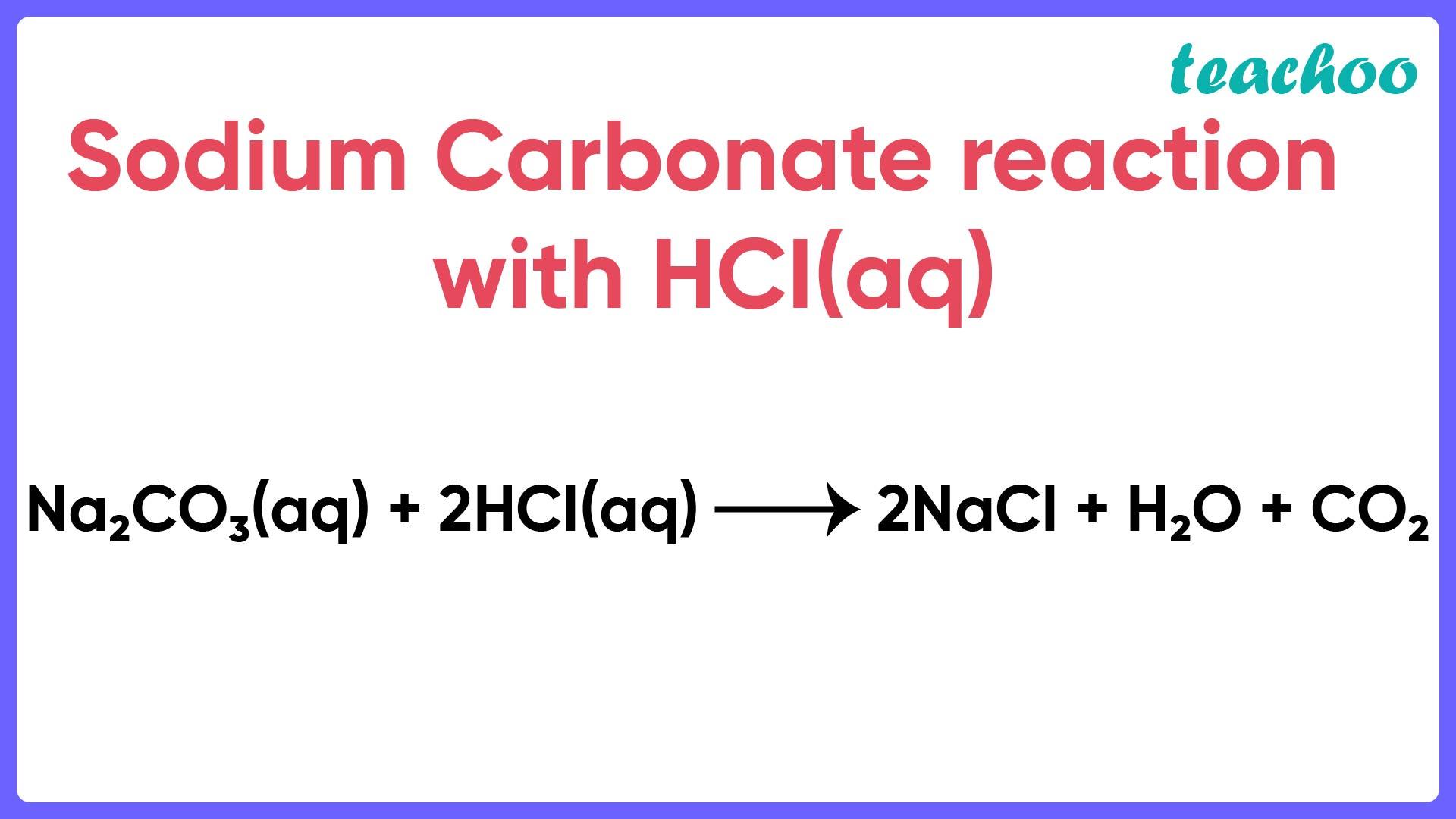 Sodium Carbonate reaction with HCl (aq) - Teachoo-01.jpg