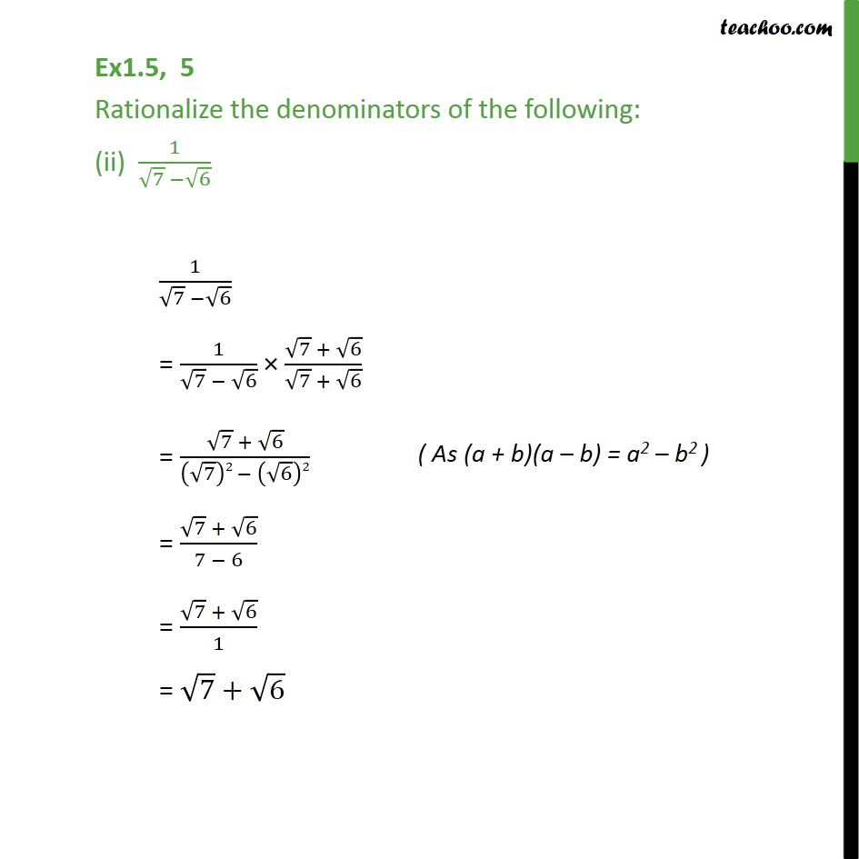 Ex 1.5,5 - Chapter 1 Class 9 Number Systems - Part 2