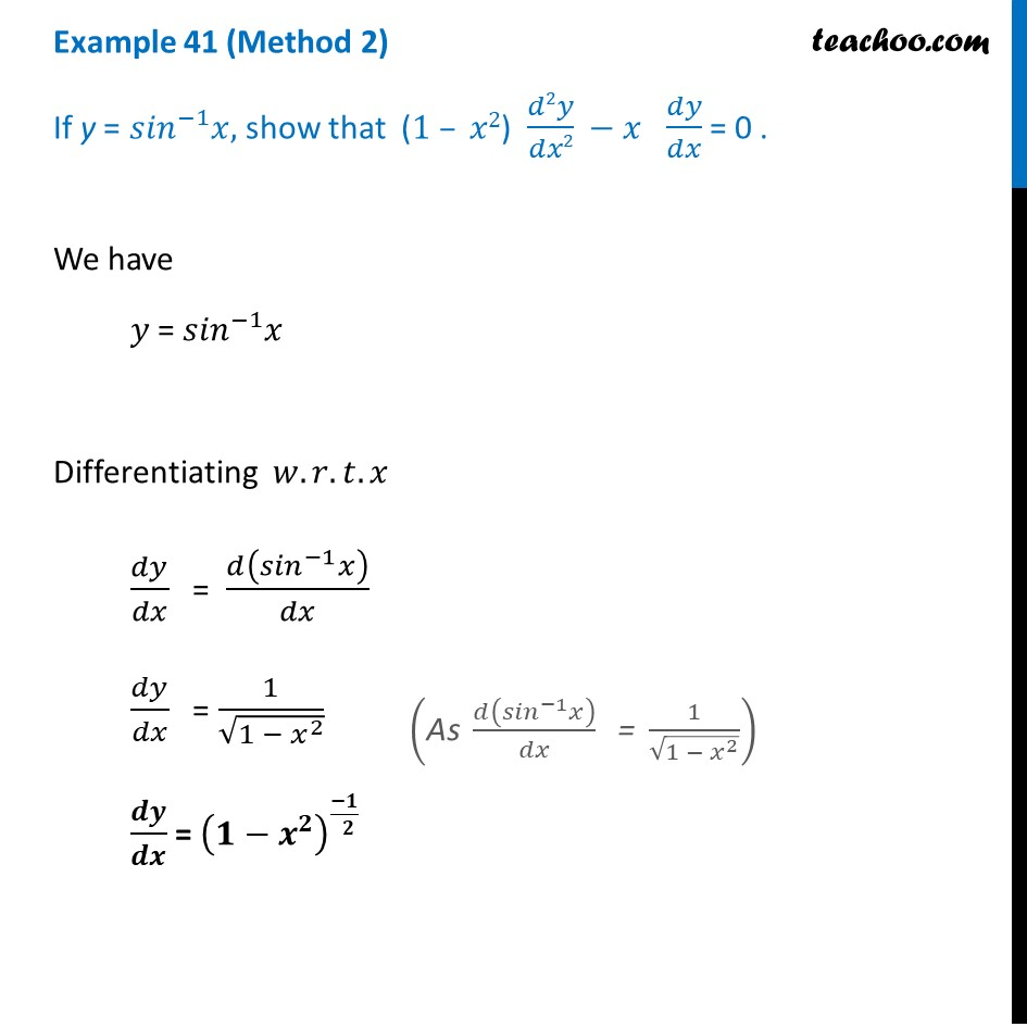 Example 41 - Chapter 5 Class 12 Continuity and Differentiability - Part 3