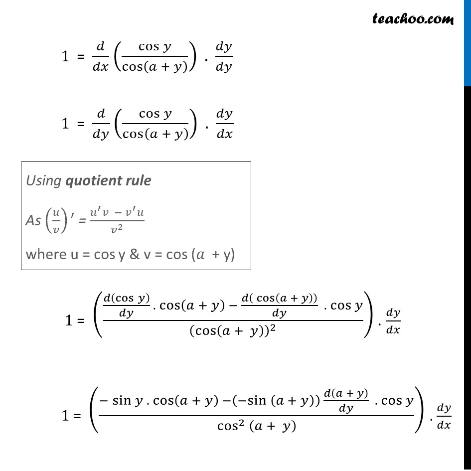 Misc  16 - Chapter 5 Class 12 Continuity and Differentiability - Part 2