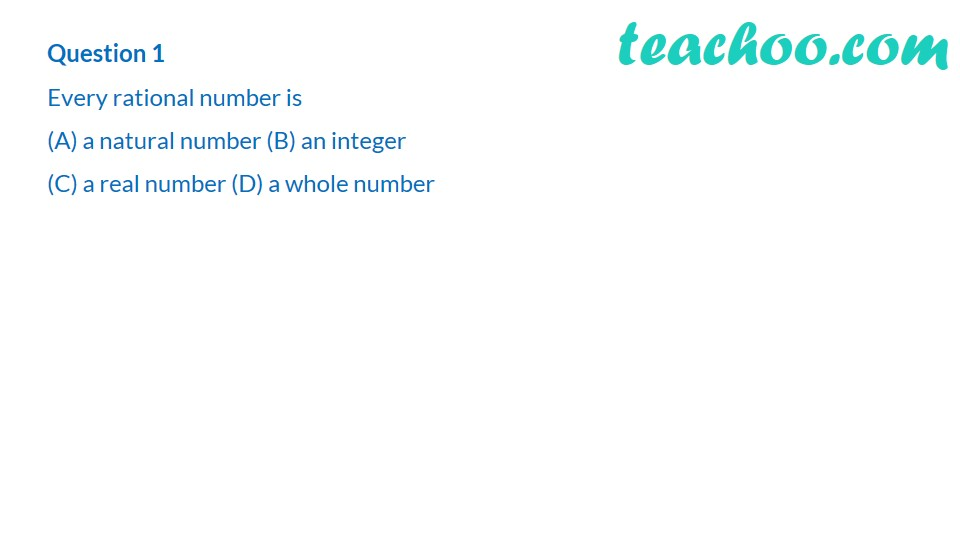 1 Mark Questions - Chapter 1 Class 9 Maths Number System (with Video)