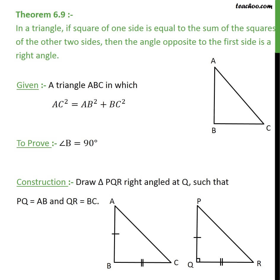1 Theorem 6.9- In a triangle, if one side is equal to the sum.JPG