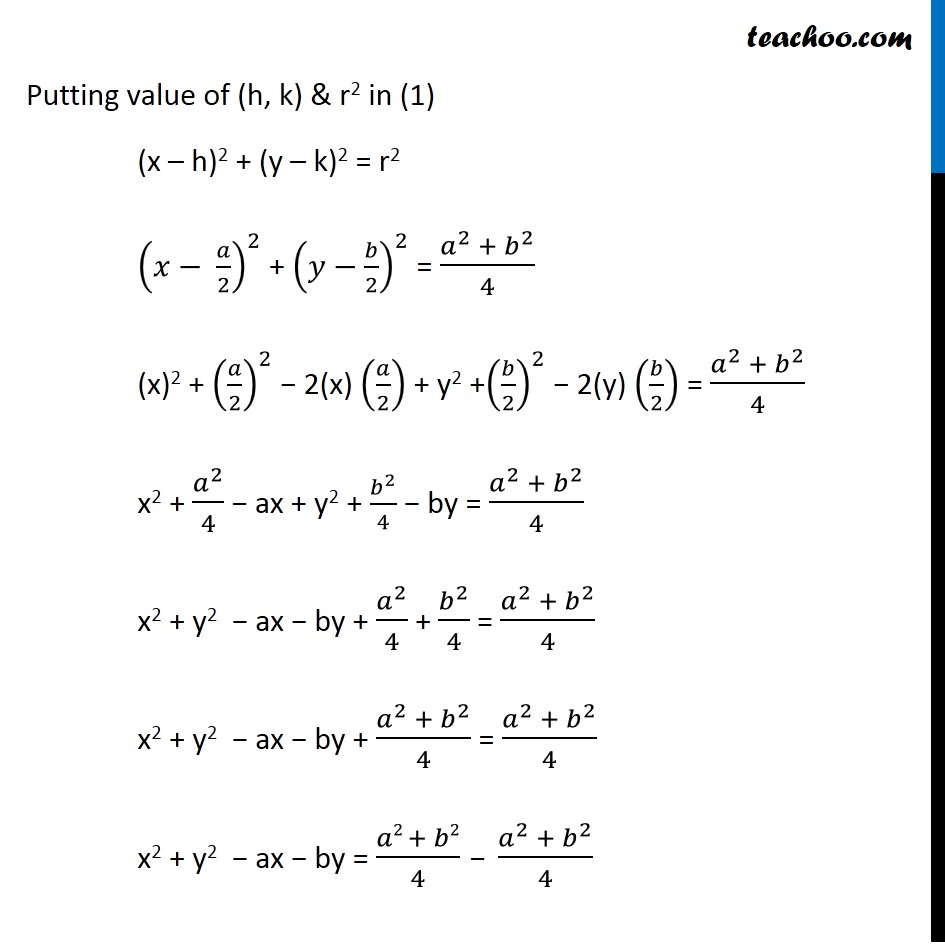 Ex 11.1,  13 - Chapter 11 Class 11 Conic Sections - Part 6