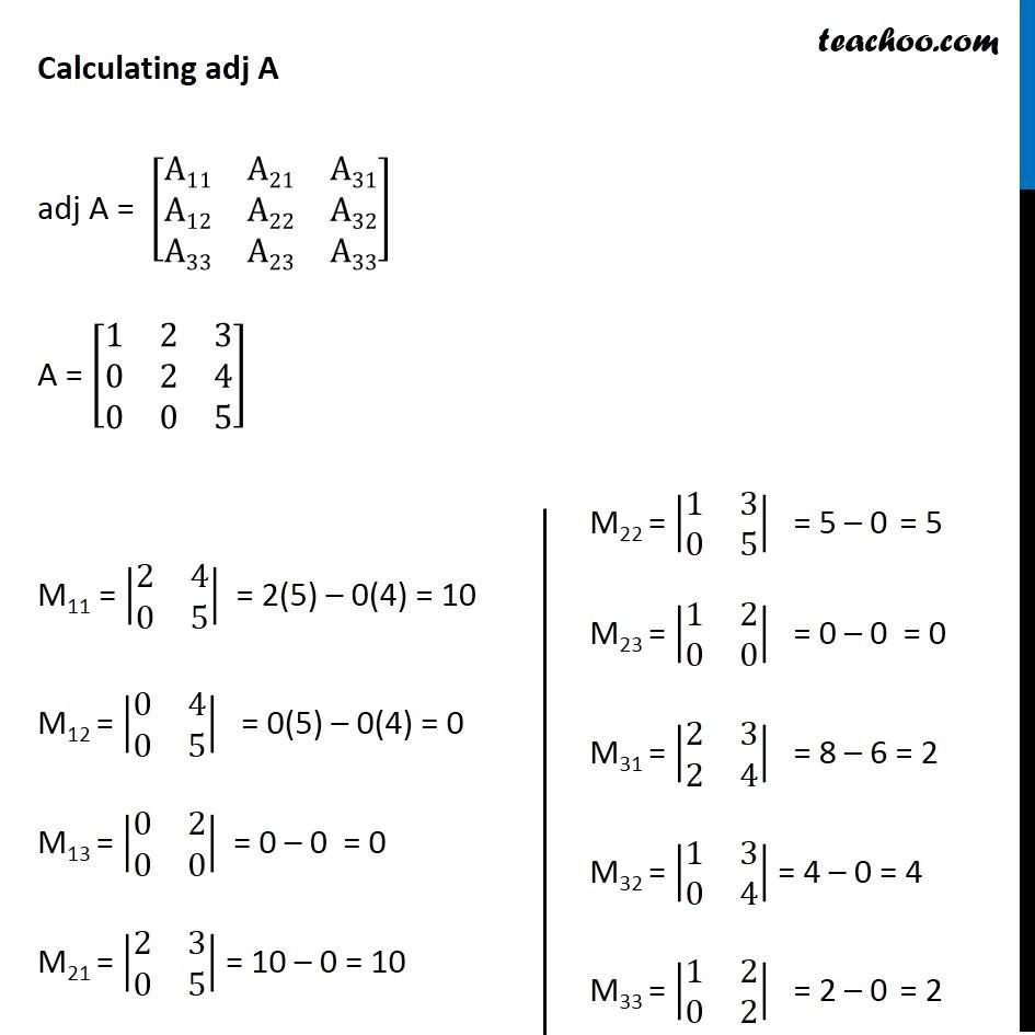 Ex 4.5, 7 - Chapter 4 Class 12 Determinants - Part 3