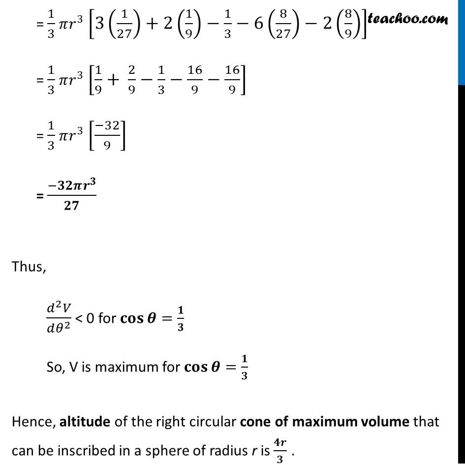 Misc 15 - Chapter 6 Class 12 Application of Derivatives - Part 7