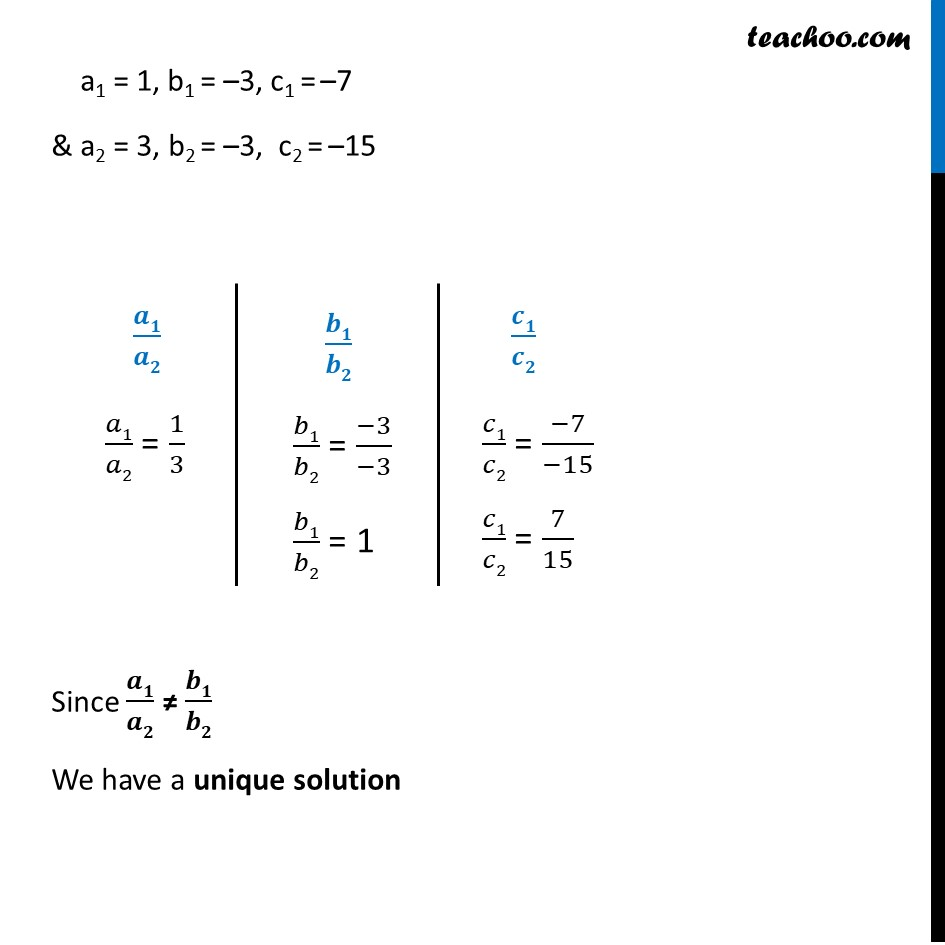 Ex 3.5, 1 - Chapter 3 Class 10 Pair of Linear Equations in Two Variables - Part 10