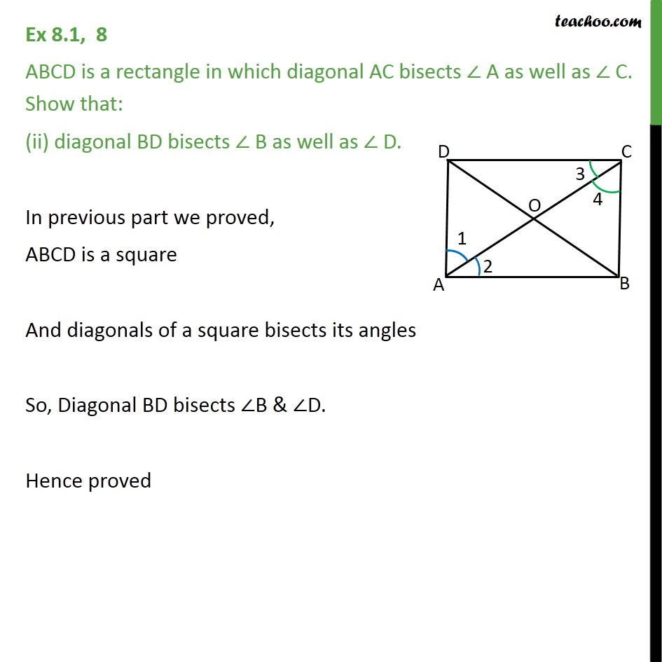 Ex 8.1, 8 - Chapter 8 Class 9 Quadrilaterals - Part 3