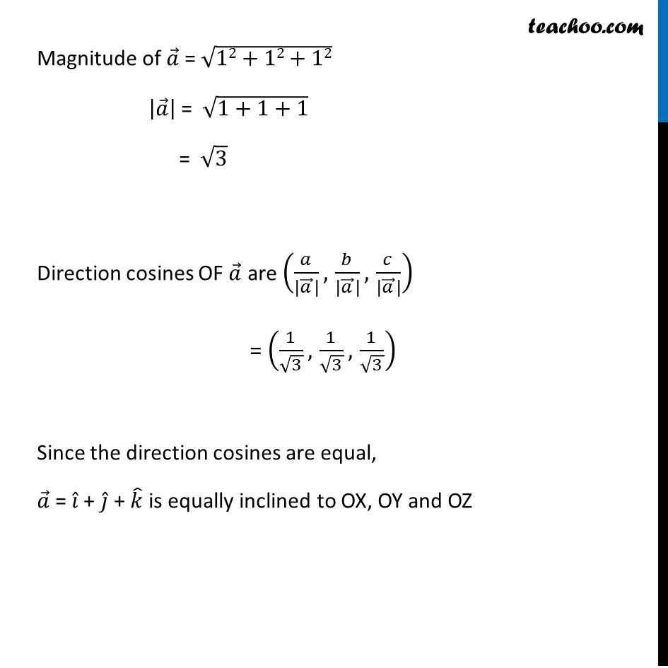Ex 10.2, 14 - Chapter 10 Class 12 Vector Algebra - Part 2