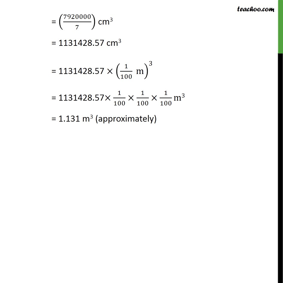Ex 13.2, 7 - Chapter 13 Class 10 Surface Areas and Volumes - Part 4