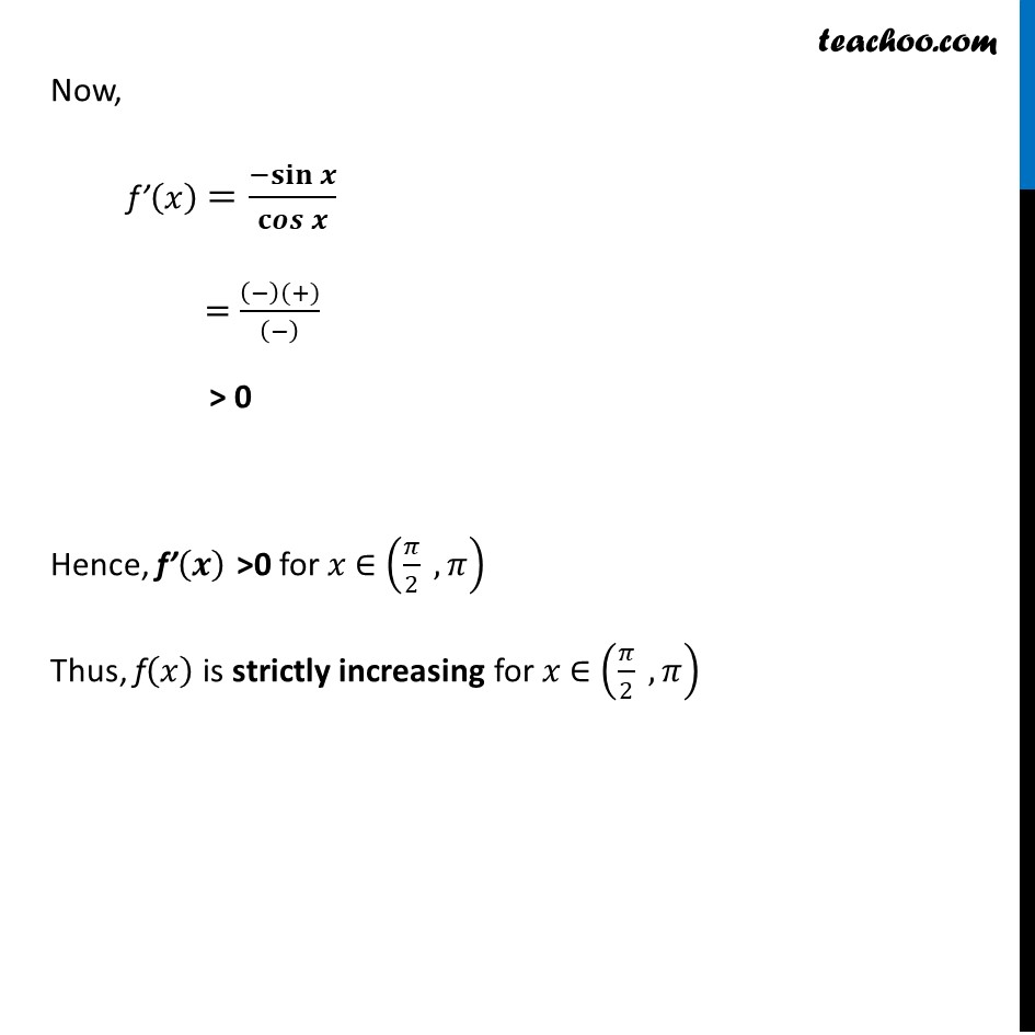 Ex 6.2,17 - Chapter 6 Class 12 Application of Derivatives - Part 4