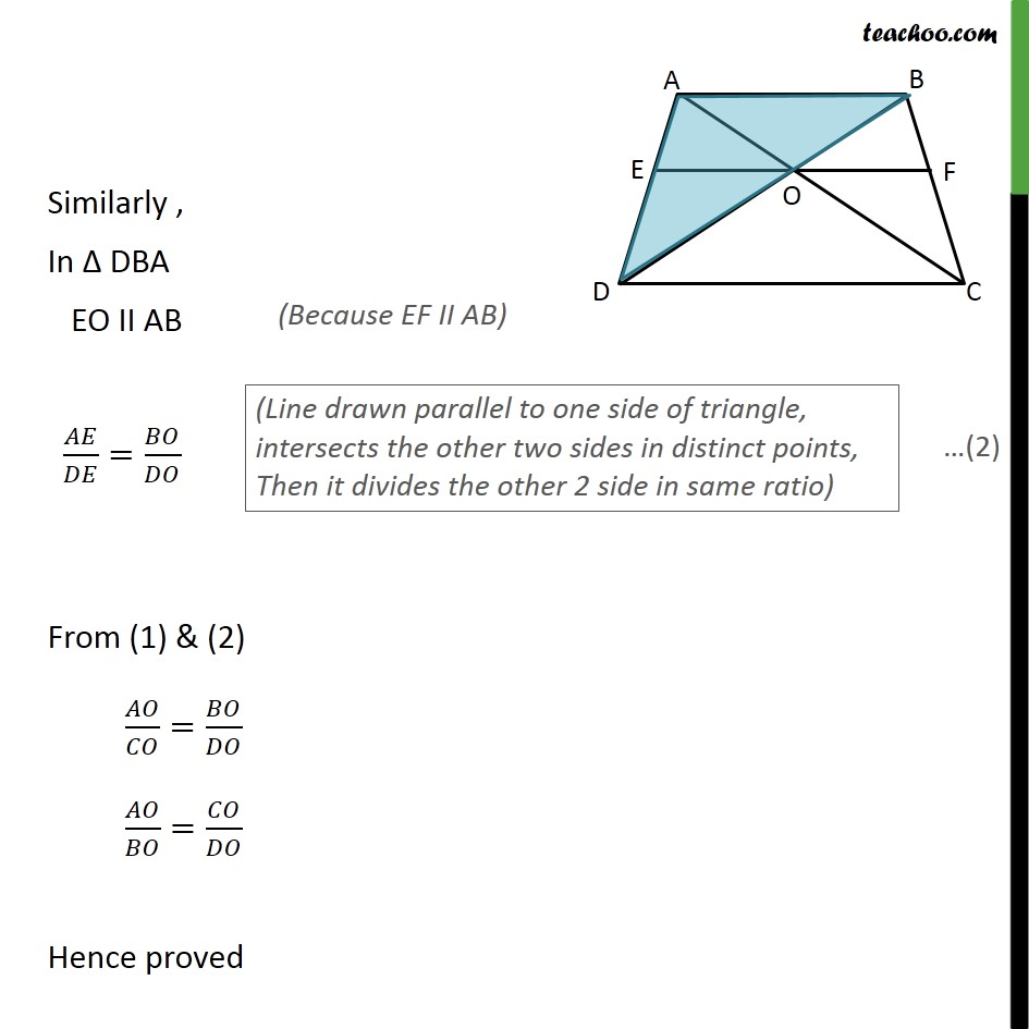 Ex 6.2, 9 - Chapter 6 Class 10 Triangles - Part 2